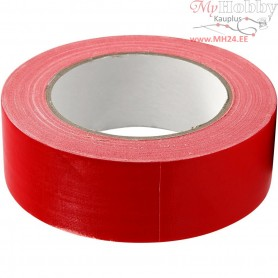 Duct Tape, W: 38 mm, red, 25m