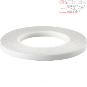 Double-sided Adhesive Tape, W: 9 mm, 6x50m