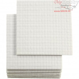 3D Foam Pads, size 5x5x2 mm, 10sheets