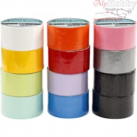 Duct Tape, W: 48 mm, asstd colours, 12x5m