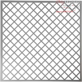 Stencil, size 30,5x30,5 cm, thickness 0,31 mm, squares, 1sheet