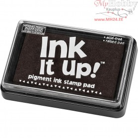 Ink Pad, size 6,3x9,5 cm, black, 1pc