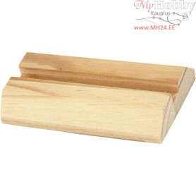 Holder, L: 7,5 cm, H: 15 mm, pine, 1pc