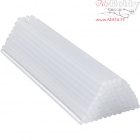 Glue Gun Sticks, D: 7 mm, L: 25 cm, 80pcs
