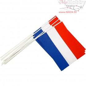 Waving Flags, size 20x27 cm, Netherlands, 10pcs