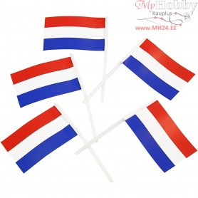 Cake Flags, size 30x48 mm, Netherlands, 100pcs