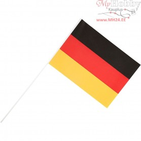 Waving Flags, size 20x25 cm, Germany, 10pcs