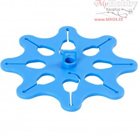 Balloon Holder / Dispenser, D: 10,3 cm, blue, 1pc