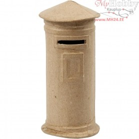 Money Box, mail box, H: 15 cm, D: 6,5 cm, 1pc