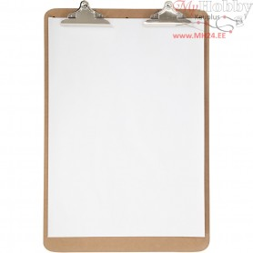 Easel Clipboard, size 46x68 cm, thickness 5 mm, MDF, A2, 1pc