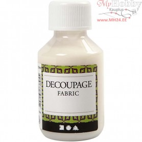Decoupage Varnish, Fabrics, 100ml