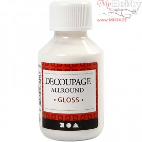 Decoupage Varnish, glossy, 100ml