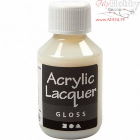 Acrylic Varnish, Glossy, 100ml