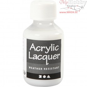 Acrylic Varnish, weatherproof, 100ml