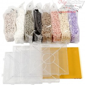 PhotoPearls Kit, asstd. colours, GreyScale, 1set