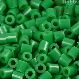 PhotoPearls, size 5x5 mm, hole size 2,5 mm, green (16), 1100pcs