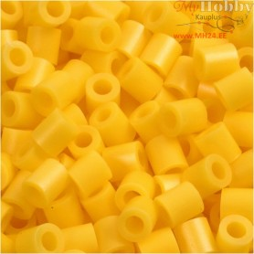 PhotoPearls, size 5x5 mm, hole size 2,5 mm, yellow (14), 1100pcs