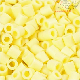 PhotoPearls, size 5x5 mm, hole size 2,5 mm, light yellow (21), 1100pcs