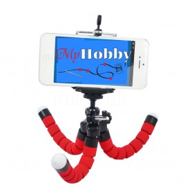 Phone and Camera Flexible Soft TriPod Mount