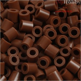 PhotoPearls, size 5x5 mm, hole size 2,5 mm, chocolate (27), 6000pcs
