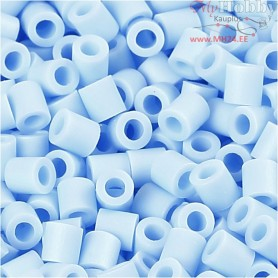 PhotoPearls, size 5x5 mm, hole size 2,5 mm, light blue (28), 6000pcs