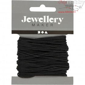 Polyester Cord, thickness 2 mm, black, 8m