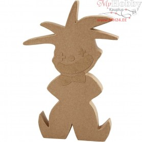 Clown, H: 24 cm, thickness 25 mm, 1pc
