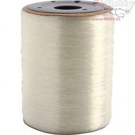 Elastic Beading Cord, thickness 0,8 mm, round, 1000m