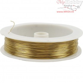 Brass Wire, thickness 0,3 mm, 70m
