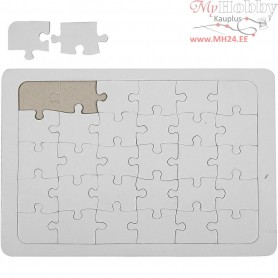 Jigsaw Puzzle, A4 21x30 cm, white, 1pc