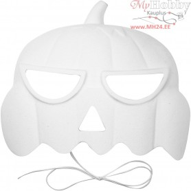 Pumpkin Masks, H: 15 cm, W: 19 cm, 1pc