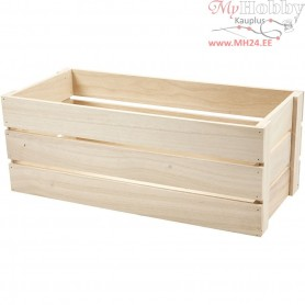 Apple Box, size 45x20 cm, H: 17 cm, 1pc