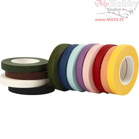 Floral Tape, W: 12 mm, 12x27m