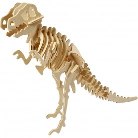 Wood Construction Kit - 3D Dinosaur