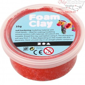 Foam Clay®, red, 35g
