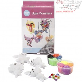 Ugly Monsters, small, 1set