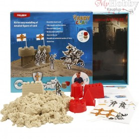 Sandy Clay®, natural, castle, 1set