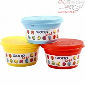 Modelling Clay, blue, yellow, red, 3x100g