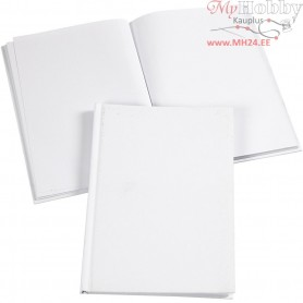 Sketchbook, A5 15x21 cm, thickness 8 mm, white, 1pc