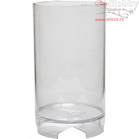 Candle Mould, size 130x82 mm, wick size 21 , Cylindrical block, 1pc