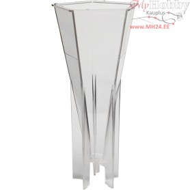 Candle Mould , size 174x76 mm, wick size 21 , Pentagonal, 1pc