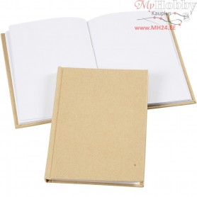 Sketchbook, A6 10,5x15 cm, thickness 8 mm, brown, 1pc