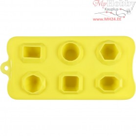 Silicone Mould, hole size 40 mm, size 13x28 cm, 1pc