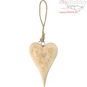Heart, Basic, H: 12 cm, thickness 20 mm, 1pc