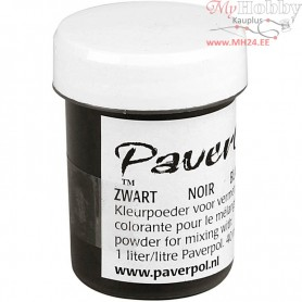 Pavercolor, black, 40ml