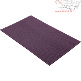 Beeswax Sheets, size 20x33 cm, thickness 2 mm, violet, 1pc
