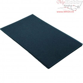 Beeswax Sheets, size 20x33 cm, thickness 2 mm, blue, 1pc