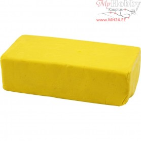 Soft Clay, size 13x6x4 cm, yellow, 500g