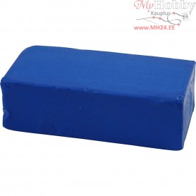 Soft Clay, size 13x6x4 cm, blue, 500g