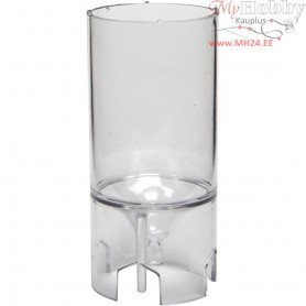 Candle Mould, size 65x44 mm, wick size 18 , Cylindrical, 1pc